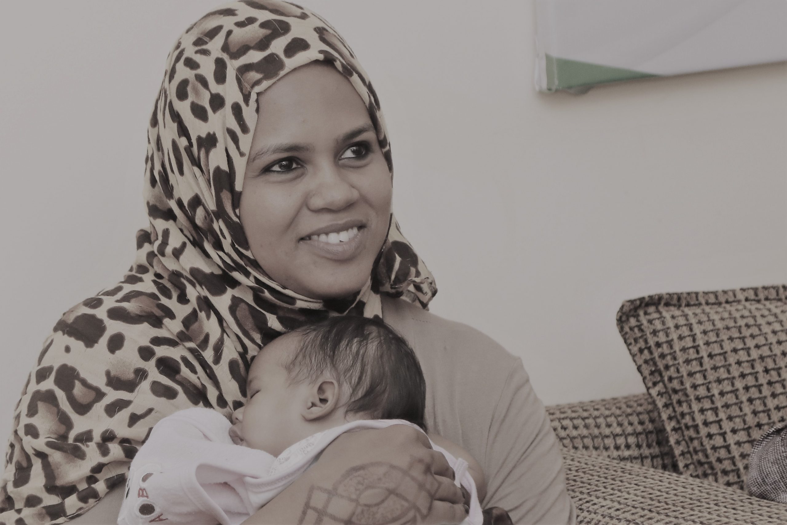 mother and a child sudan12